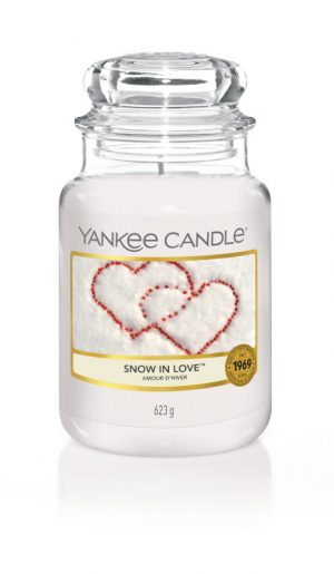Bougies Yankee Candle parfum amour d'hiver