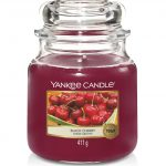Bougies Yankee Candle parfum cerise griotte