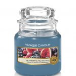 Bougies Yankee Candle parfum figues et mûres gourmandes