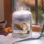 Bougies Yankee Candle parfum perle d'automne