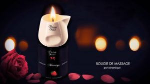 Bougies de massage Plaisir Secret